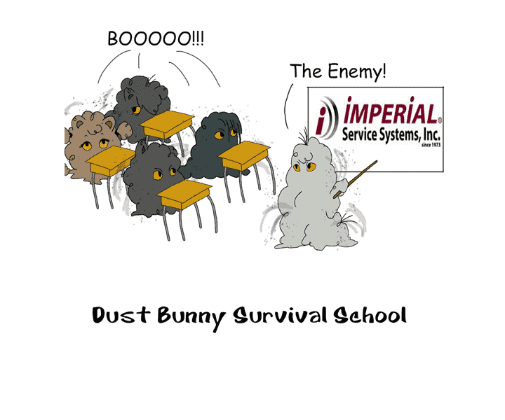 Dust Bunny Survival School